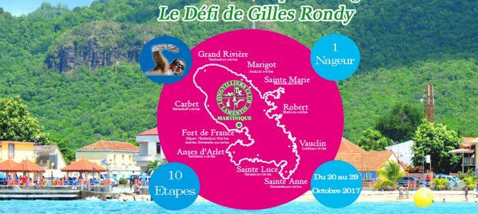 Le tour de Martinique à la nage : Le Défi de Gilles Rondy